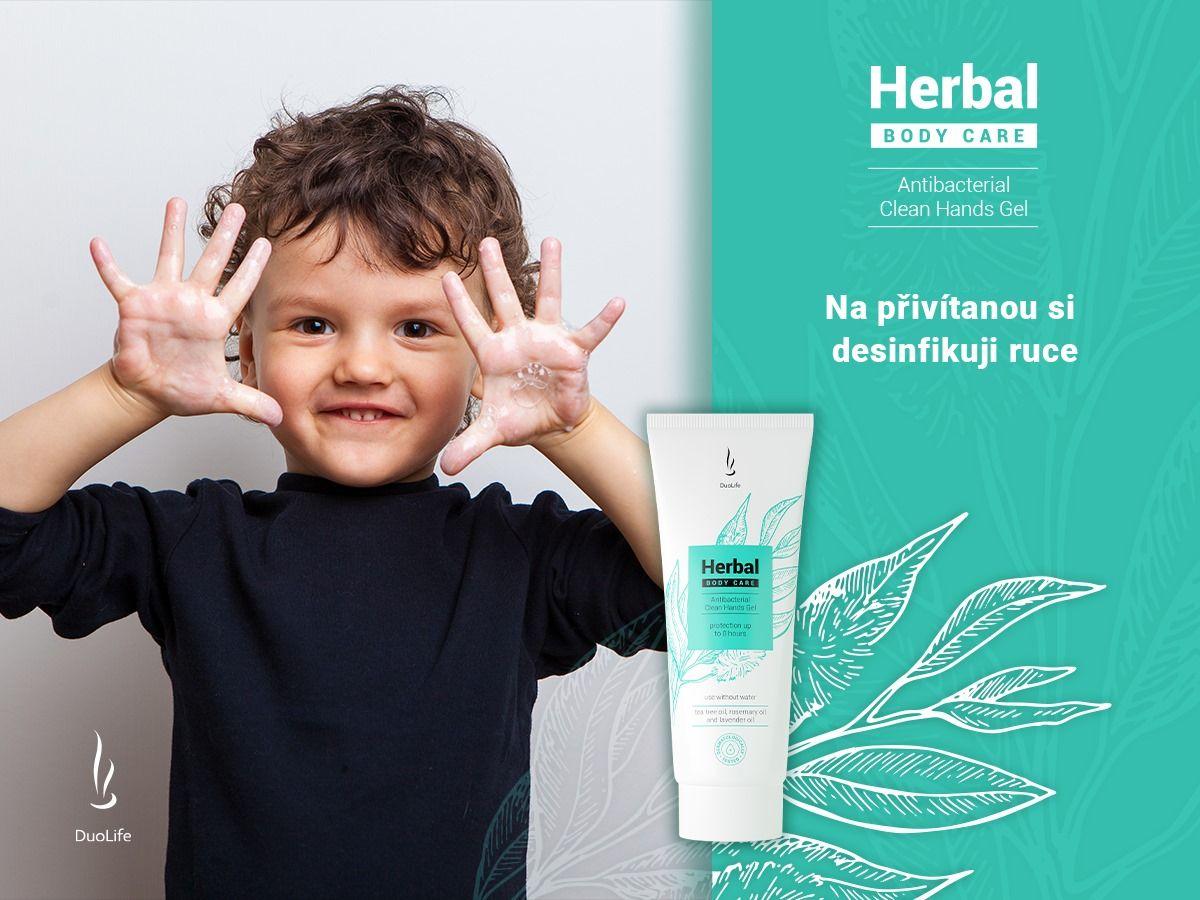 Duolife Antibakteriální gel na ruce 50ml