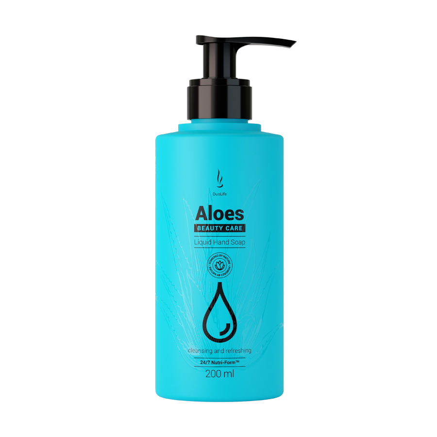 DuoLife Beauty Care Aloes Liquid Hand Soap 200ml