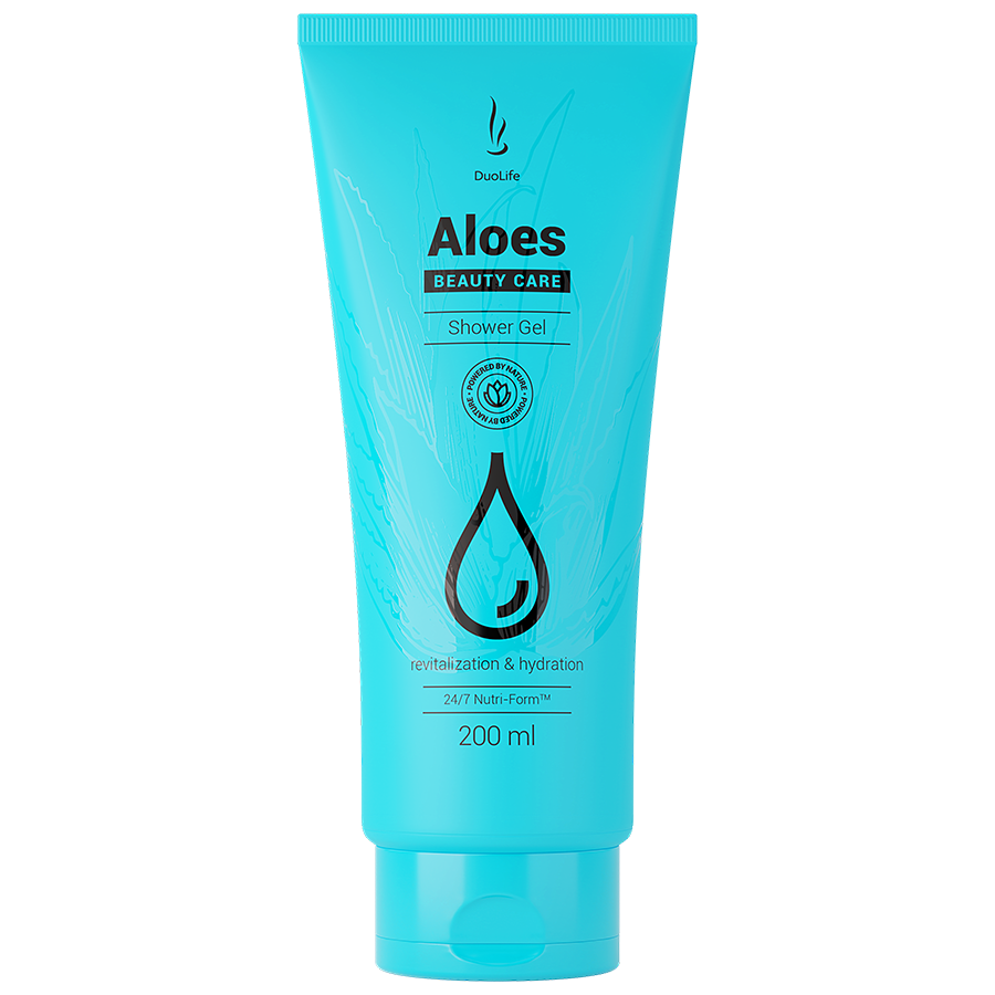 Duolife Beauty Care Aloes Shower Gel sprchový gel 200 ml