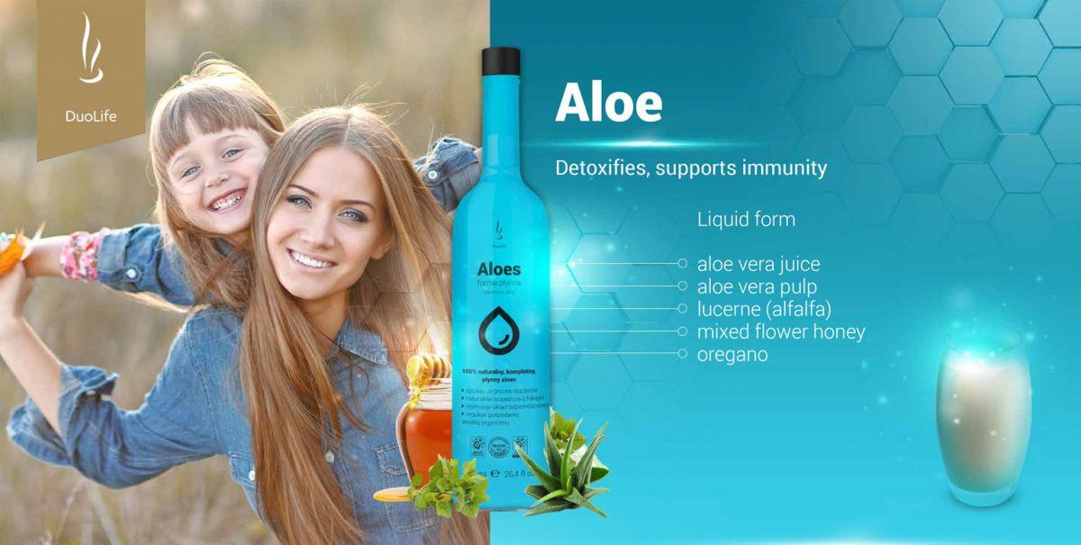 DuoLife Aloes 750ml | Aloe vera