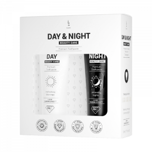 Zubní pasty DuoLife Day & Night Beauty Care (2x50ml)